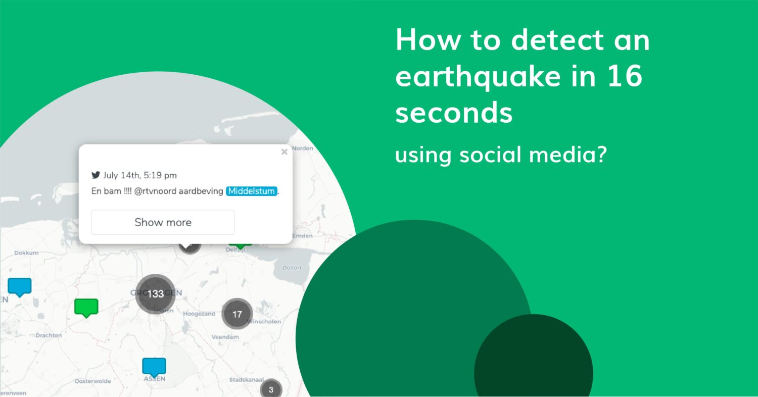 Earthquake detection within 16 seconds