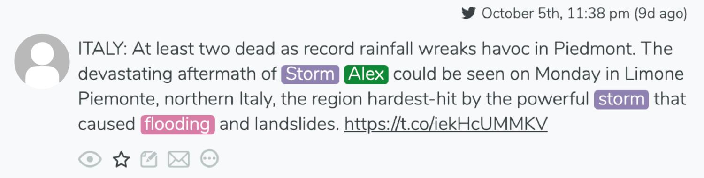 aftermath tweet storm alex